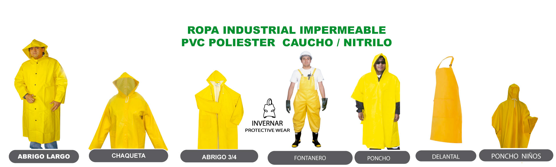Ropa Industrial PVC-Inecpro